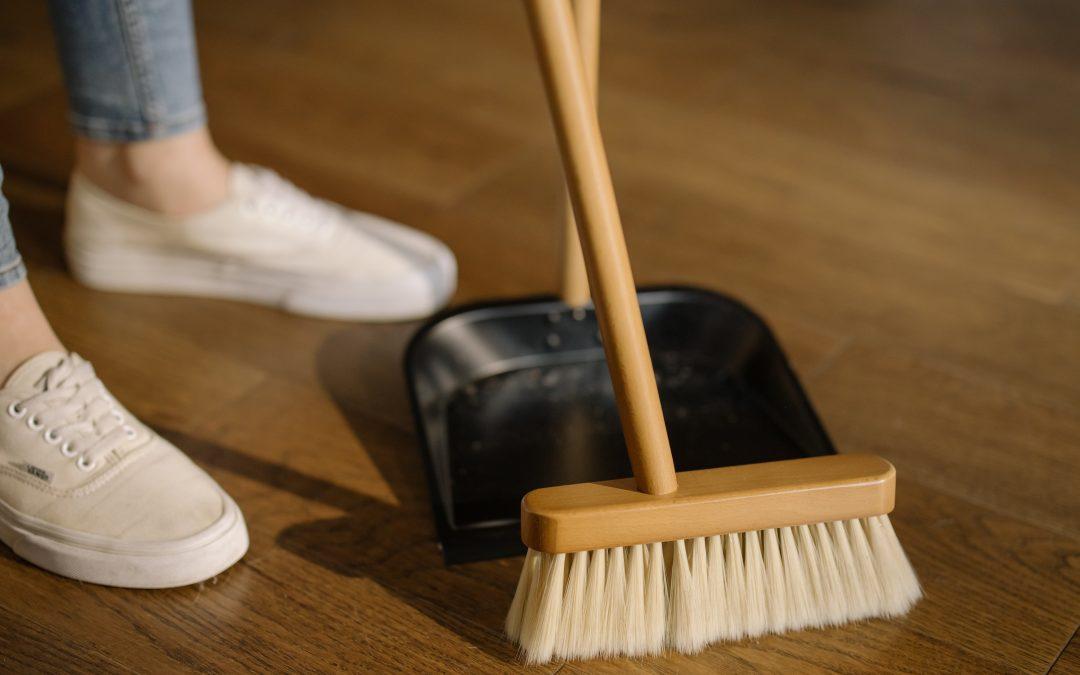 Organizar limpieza del hogar